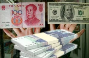 dollar with yuan