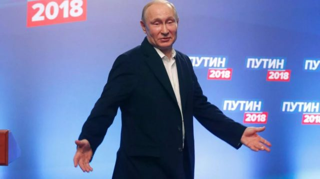 Putin wins again