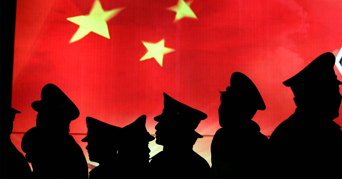 spying for China