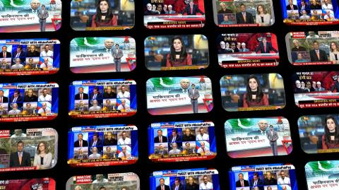 pakistani media split