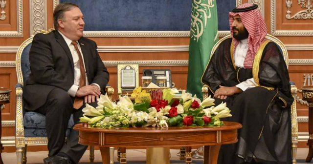 Pompeo in Saudi Arabia; Iran threatens more U.S. drone attacks