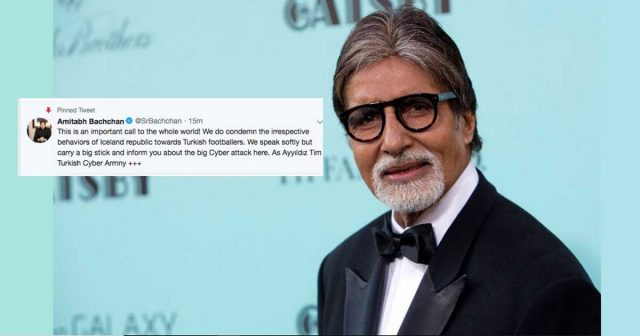 Hackers post Imran Khan's photo on Amitabh Bachchan's Twitter account