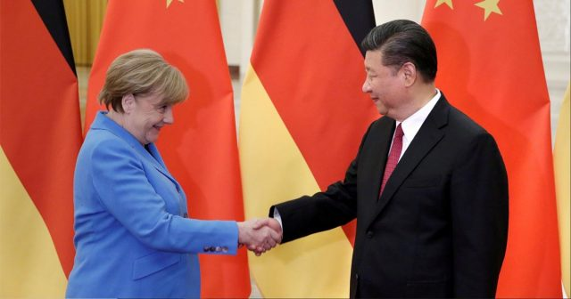 Merkel hopes China-U.S. trade problems will be over soon