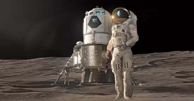 NASA's new billion deal will take astronauts to the moon