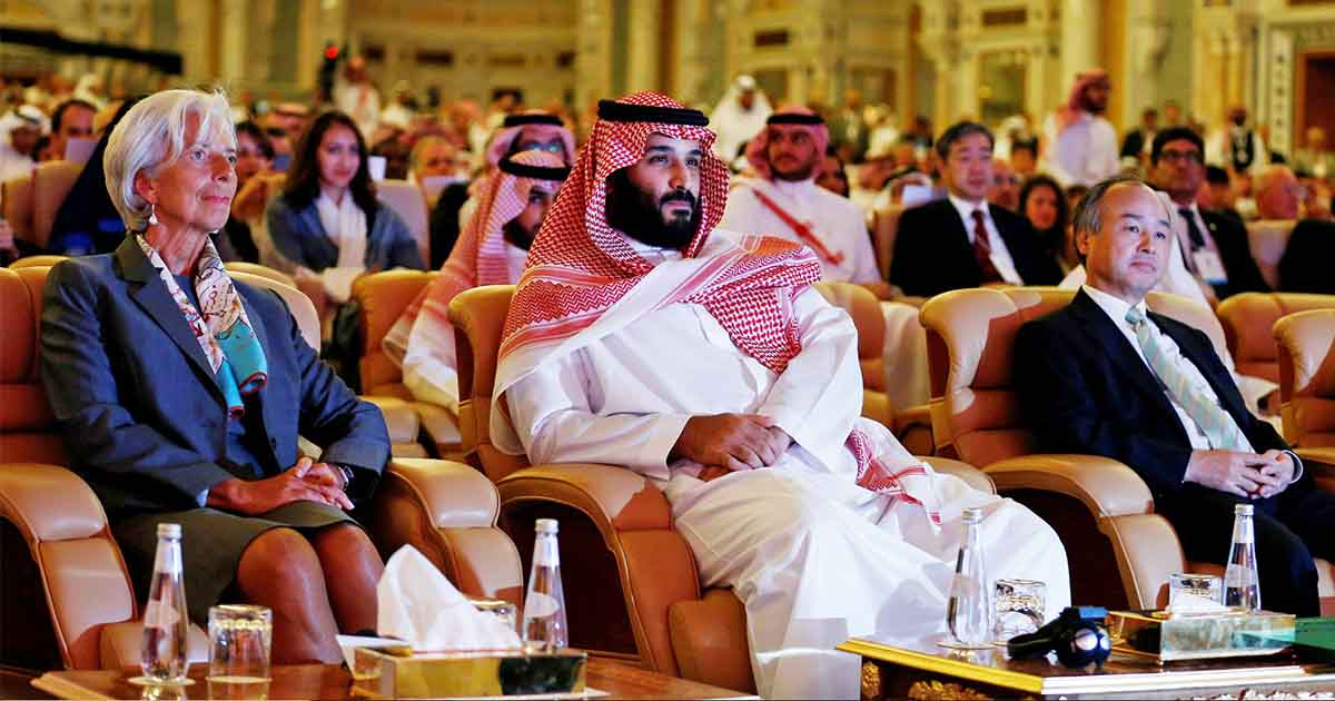 Global Political And Business Leaders To Attend Saudi Davos In Desert