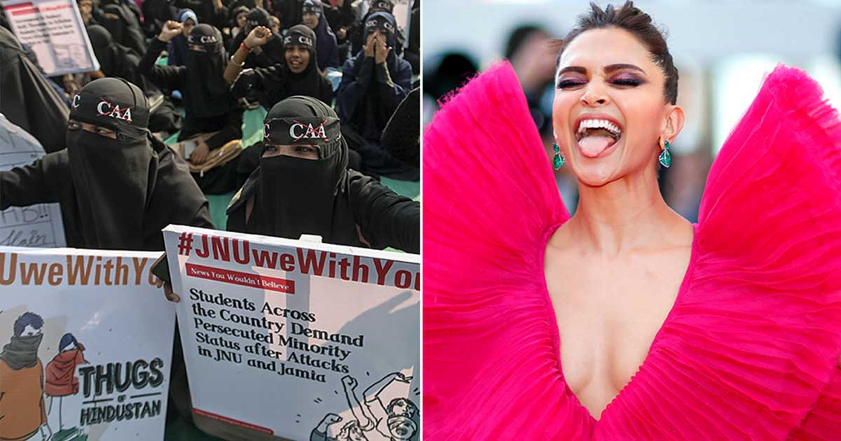 Deepika Padukone's support visit to protest hotbed JNU ...