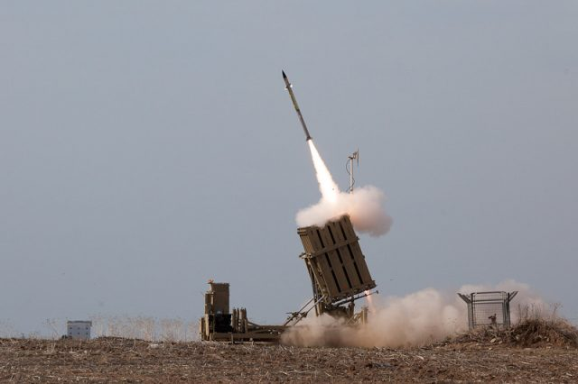 Israel issues 'ROCKET ALERT' after 20 missiles launched from Gaza
