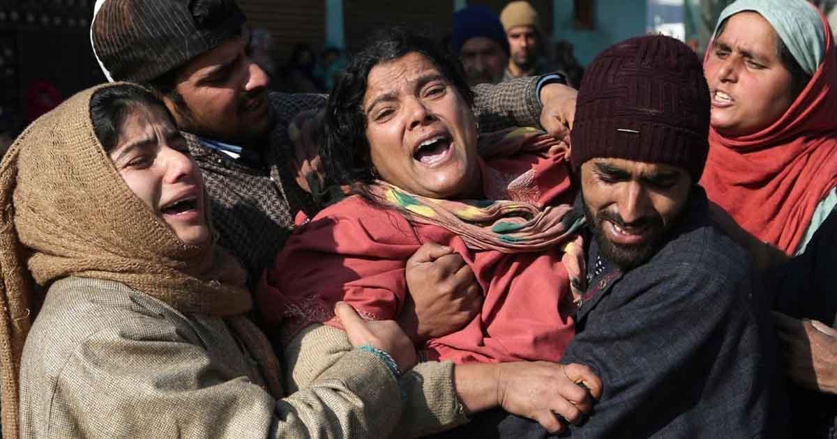 bloodshedding in Kashmir
