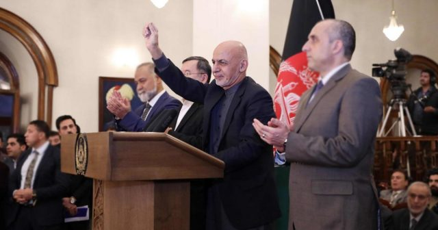 Ghani named victor of disputed Afghan poll, rival also claims victory