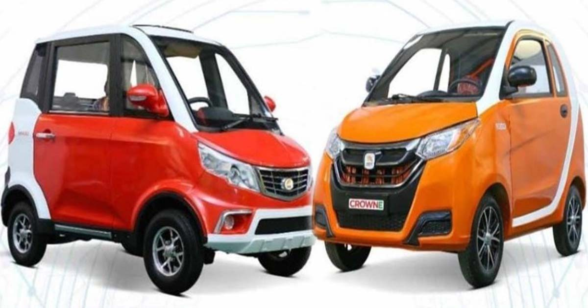affordable crown electric cars introduced in pakistan affordable crown electric cars
