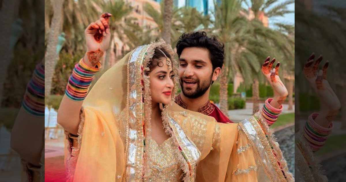 Sajal Aly looks stunningly beautiful in unseen Mehndi pictures
