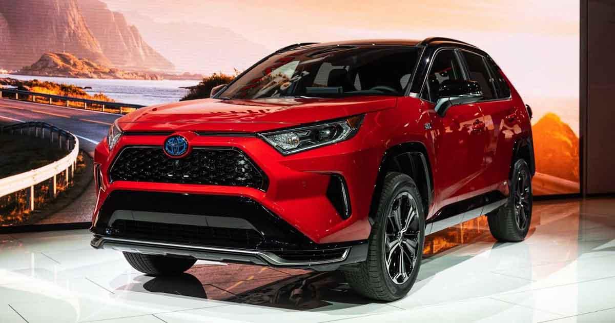 Toyota Rav4 Prime 2021 Toyota S Most Affordable Suv Global