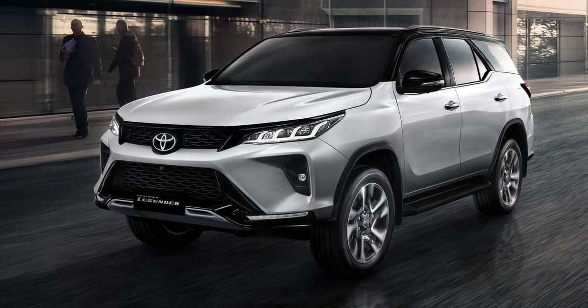 Exquisitely designed all-new 2021 Toyota Fortuner Legender ...
