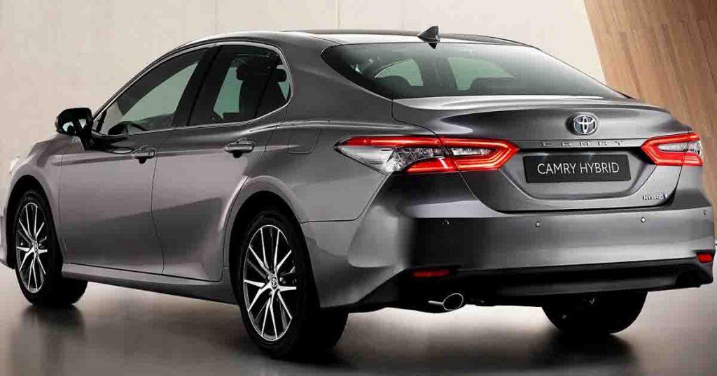 Toyota Camry 2022 rear