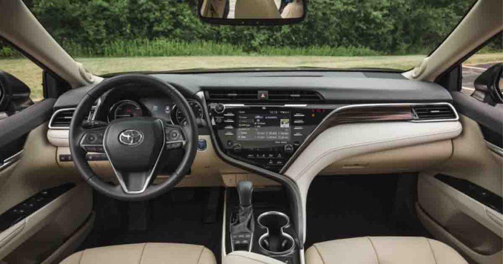 Toyota Camry 2022 beige Interior
