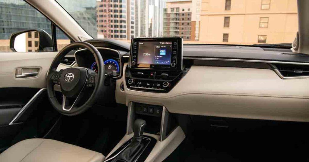 Toyota Cross Interior